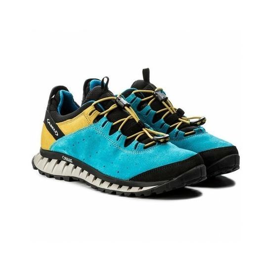 Shoes AKU CLIMATICS SUEDE GTX blue