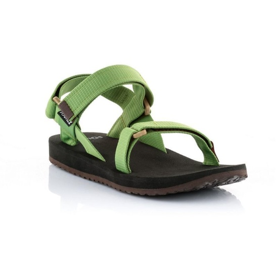 Sandals SOURCE Urban Men's Leather Green