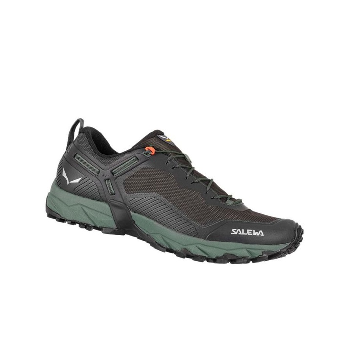 Men shoes Salewa MS ULTRA TRAIN 3 raw green black out