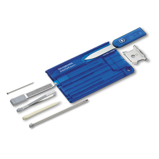 Knife Victorinox SwissCard Quattro 0.7222.T2