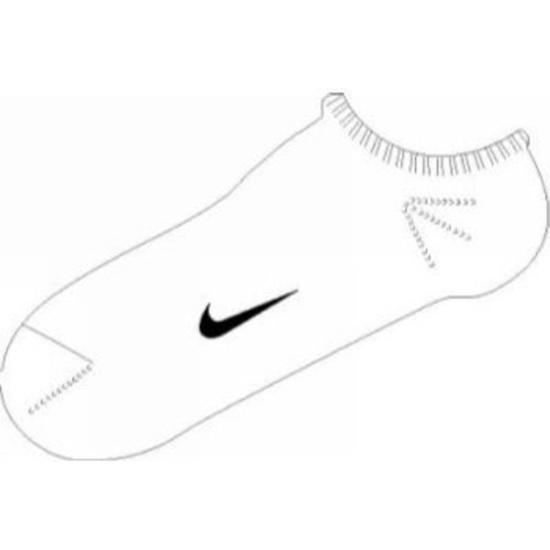 Socks Nike Ankle Femme Pink SX1430-152