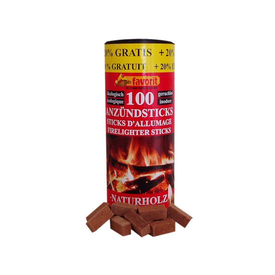 Solid firelighter Favorit 100 ks+20%