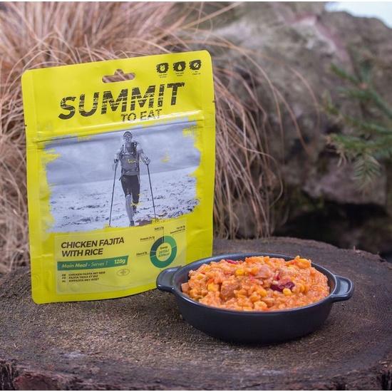 Summit To Eat stew chicken Fajita with rice 802100