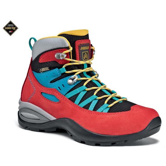 Shoes Asolo Dual GV JR fire red/black/A305