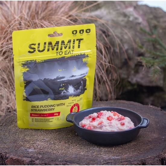 Summit To Eat rice pudding with strawberries 810100