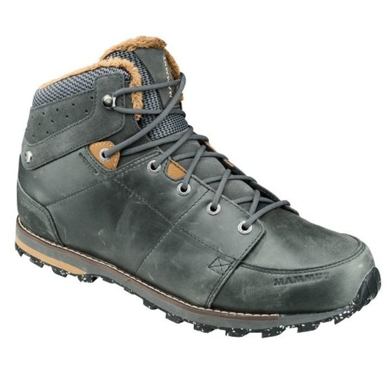 Shoes Mammut Chamuera Mid WP Men Dark graphite-timber