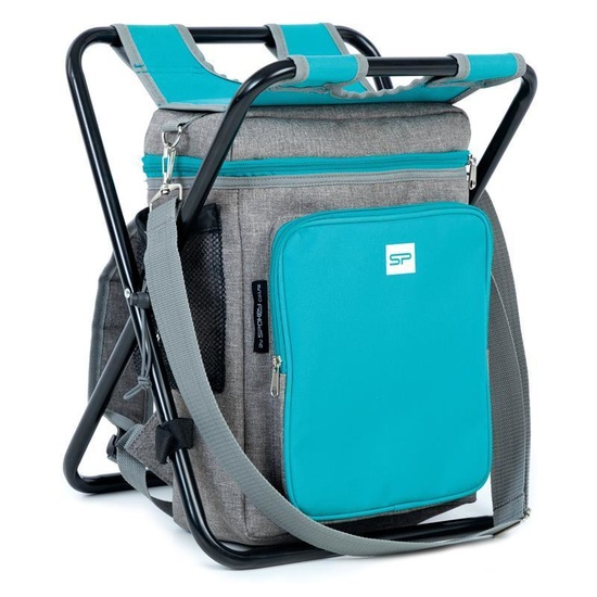 Tourist chair Spokey MATE backpack / thermo bag