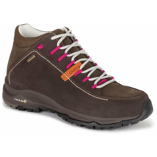 Shoes AKU NEMES SUEDE MID GTX WS brown