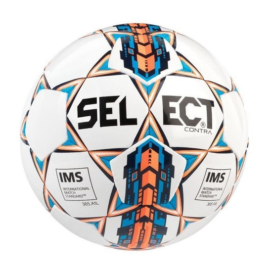 23dcf10b Football ball Select FB Contra white orange - gamisport.eu