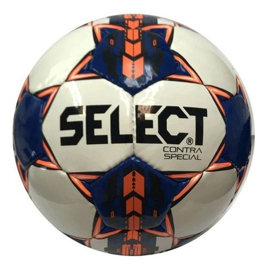 Football ball Select FB Contra Special white blue