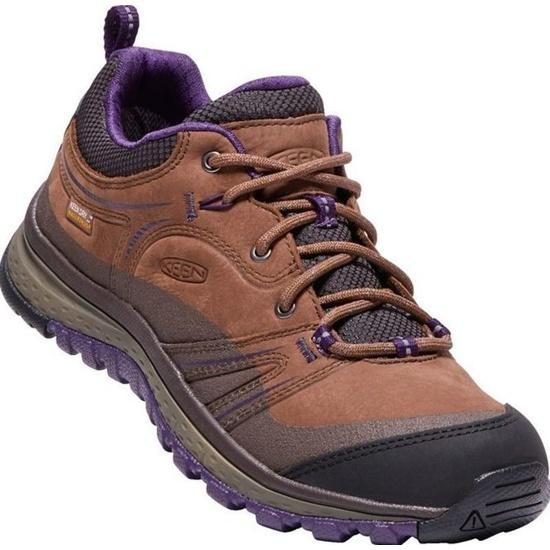 Women boots Keen Terrador Leather WP W, scotch / mulch