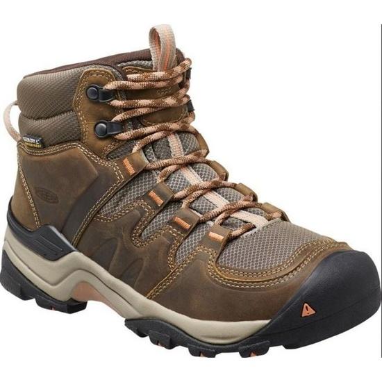 Women boots Keen Gypsum II MID W, cornstock / gold coral
