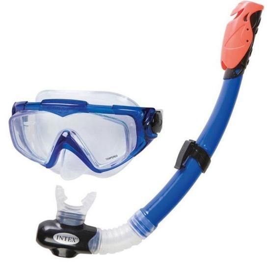 Diving set Intex Silicon AQUA PRO