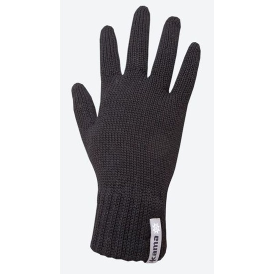 Knitted Merino gloves Kama R102 110 black