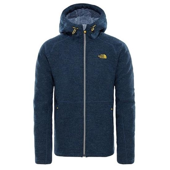 Sweatshirt The North Face M ZERMATT FULL ZIP H SHADY BLUE HTHR CF98HKW
