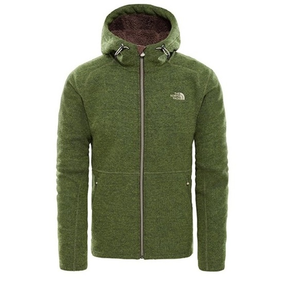 Sweatshirt The North Face M ZERMATT FULL ZIP H FOURLEAFCLVRHTR CF981LR