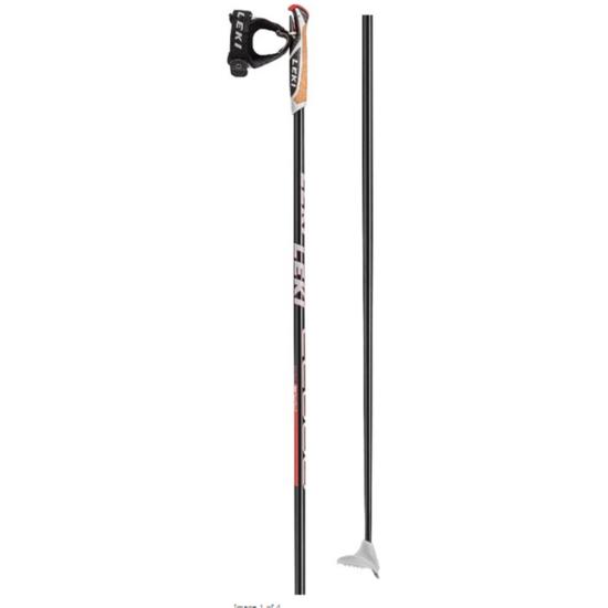 Running sticks LEKI CC 600 6434087 black / white-neon