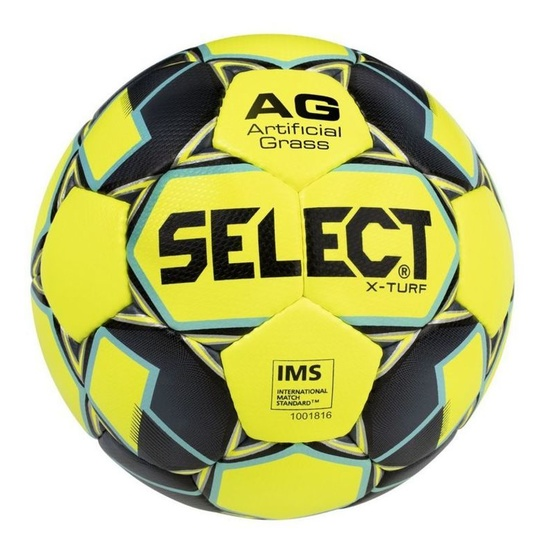 Football ball Select FB X-Turf yellow grey
