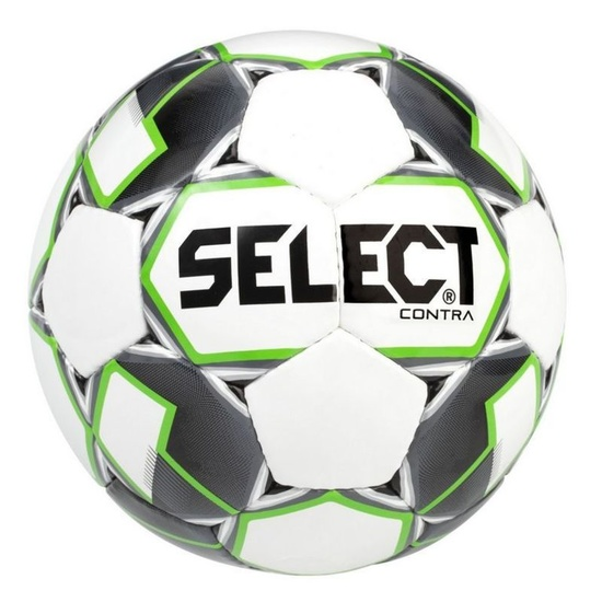 Football ball Select FB Contra white green