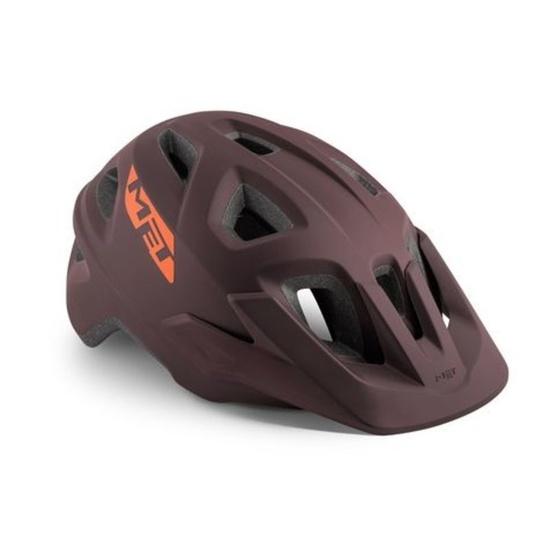 Helmet MET ECHO 2019 burgundy / burgundy