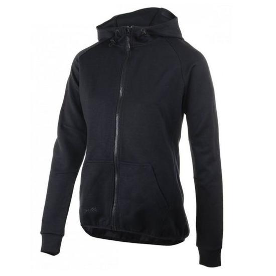 All-in women's functional hoodie Rogelli TRAINING with hood, black 050.610.