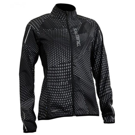 Jacket Salming Ultralite Jacket 3.0 Women Black AOP