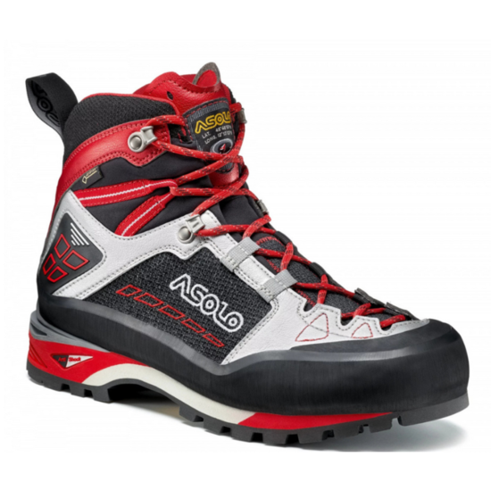 Shoes Asolo Freney Mid GV MM black / silver