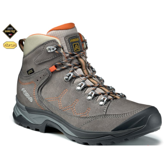 Shoes Asolo Falcon Lth GV ML cendre/cendre/A167