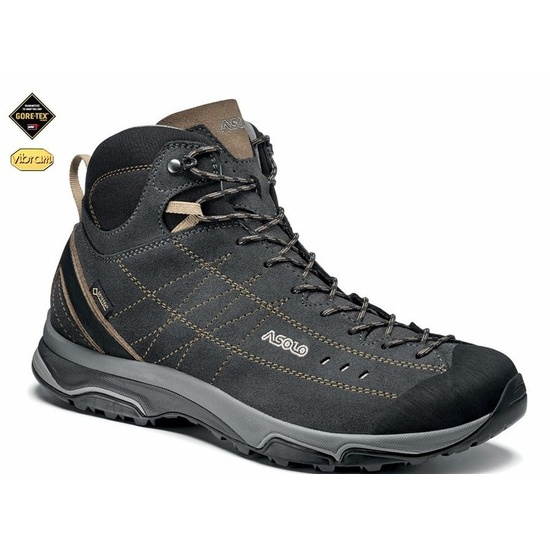 Shoes ASOLO Nucleon Mid GV MM graphite brown A921