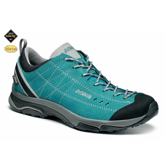 Shoes ASOLO Nucleon GV ML north sea/silver/A923