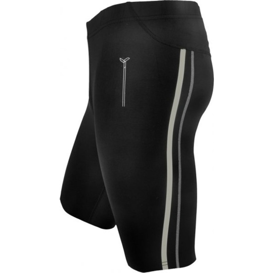 Men short running pants Silvini Lambro MP614 black