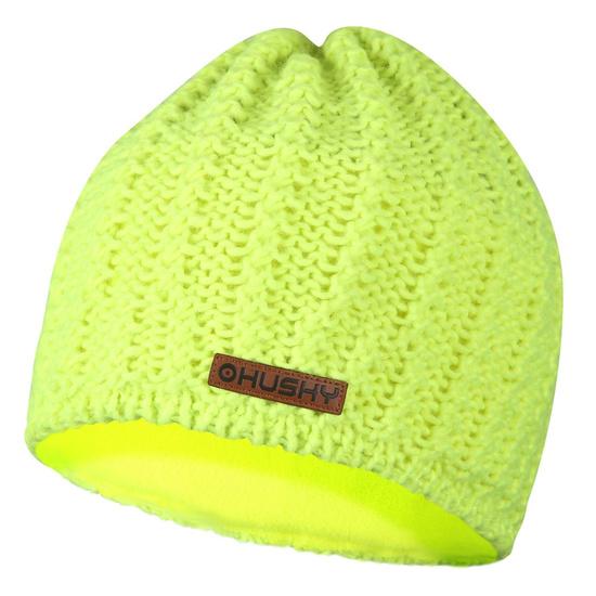 Women cap Husky Cap 30 neon yellow