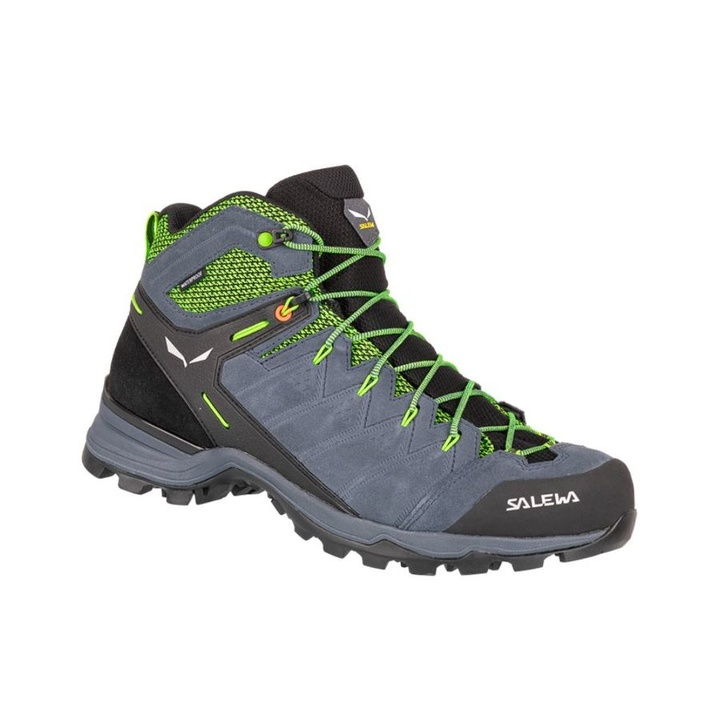 Men boots Salewa MS ALP MATE MID WP Ombre Blue Pale Frog