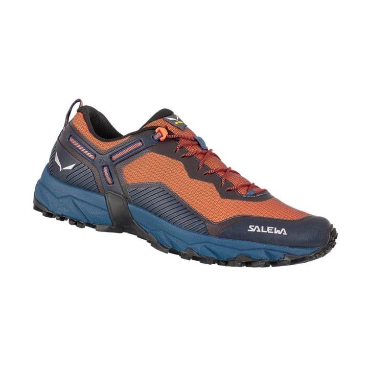 Men shoes Salewa MS ULTRA TRAIN 3 dark denim red orange