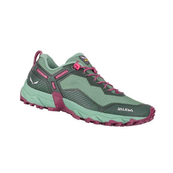 Women shoes Salewa WS ULTRA TRAIN 3 duck green rhododendon