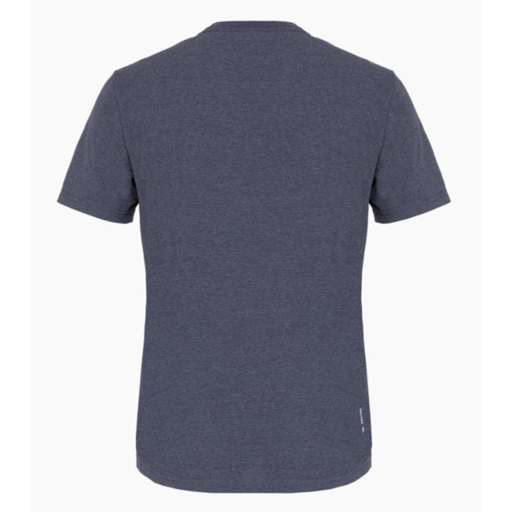 Men's T-Shirt Salewa Printed Box Dry premium navy melange 28259-3986
