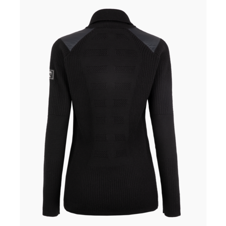 Women's sweatshirt Salewa Sella Merino black out 28272-0910