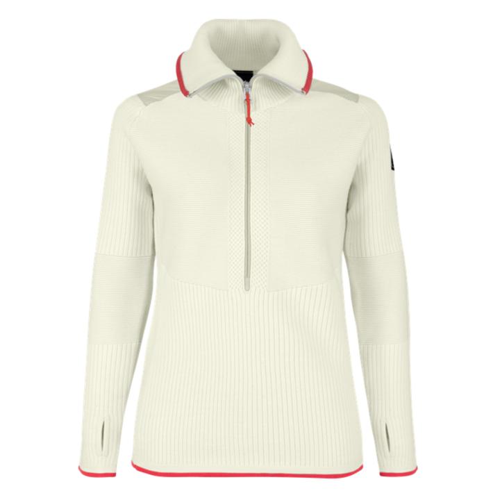 Women's sweatshirt Salewa Sella Merino oatmeal 28272-7260