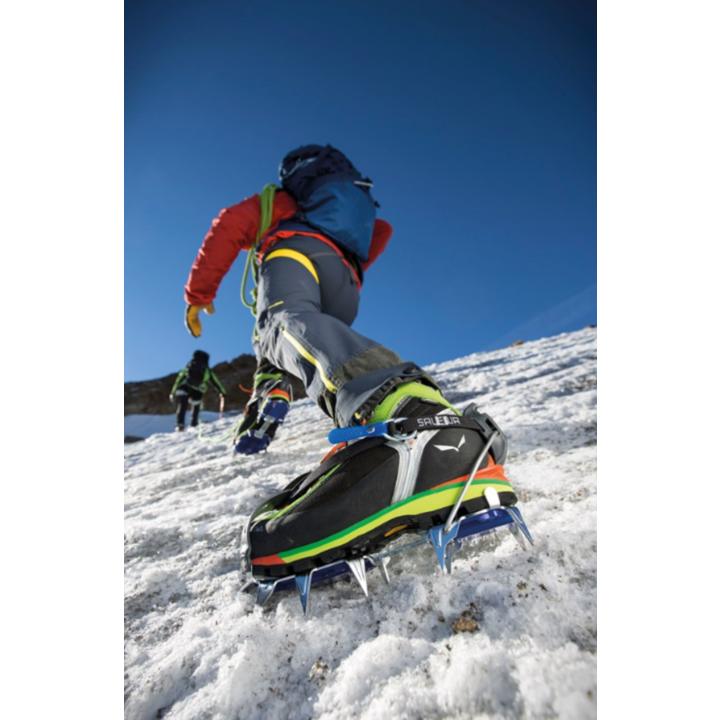 Crampons Salewa Alpinist Alu Combi steel blue 812-0999