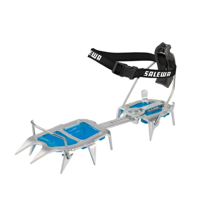 Crampons Salewa Alpinist Alu Combi steel blue 813-0999