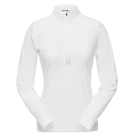 Turtleneck Spyder Women's Shimmer Bug Velour Fleece T-Neck 182342-100