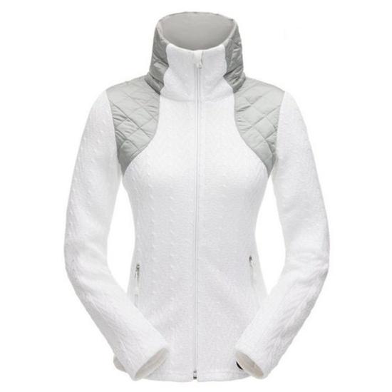 Sweater Spyder Women `s Lolo Mid WT FZ Stryke 182406-100