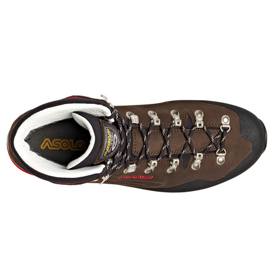 Shoes Asolo Superior GV MM dark brown/red/A904