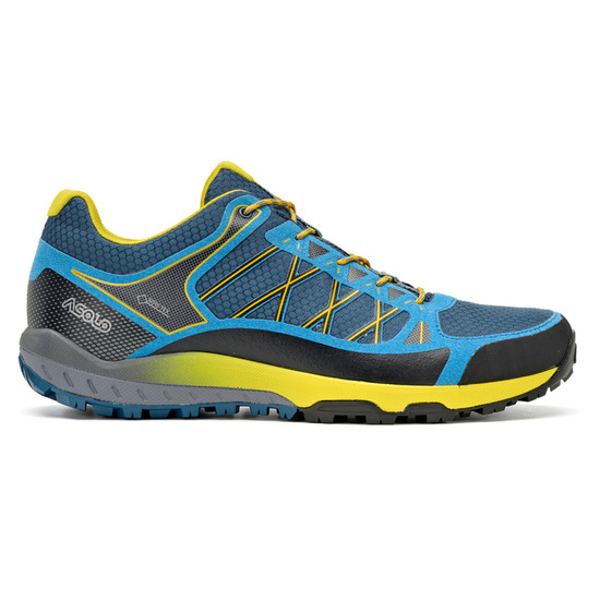 Shoes Asolo Grid GV MM indian teal/yellow/A898