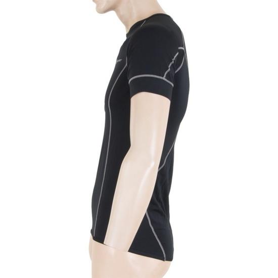 Men shirt Sensor Coolmax Fresh black 11101005