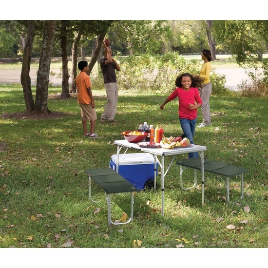 Table Coleman Pack-Away Table For 4