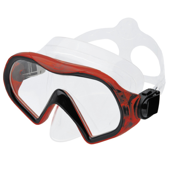 Mask Spokey TABARO color: red