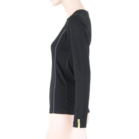 Women shirt Sensor Merino Wool Active black 11109024
