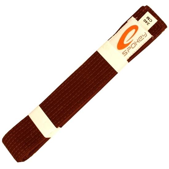 Belt to kimono Spokey UNSU brown
