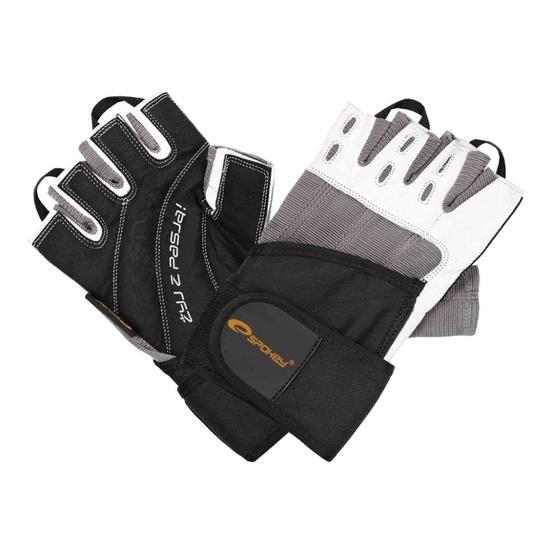 Fitness gloves Spokey gloves RAYO